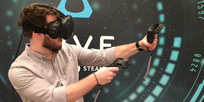 Miglior casco vr, realtà virtuale, HTC VIVE